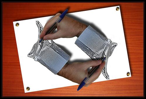 Escher Hands by Robbert van der Steeg, used under Creative Commons License