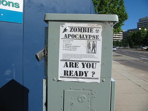 Zombie Apocalypse, by Stephen Dan, used under CC license