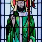 St Patrick, Kilbennan St. Benin's Church Window, wikimedia commons, used under cc license