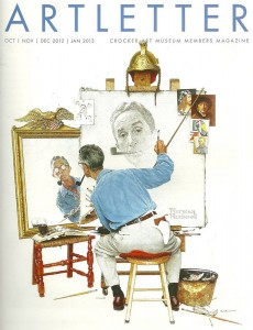 Triple Self Portrait, by Norman Rockwell, Crocker Art Museum, Nathan Hughes Hamilton [via Flickr] used under cc license