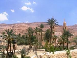 St. Anthony's Monastery 2006, public domain via Wikipedia