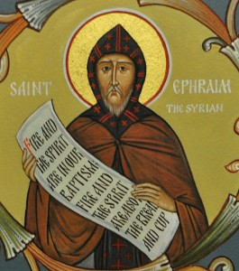 Ephraim the Syrian Ephrem, by Ted on Flikr under CC license