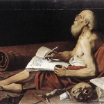 St Jerome, by Leonello Spada; public domain via wikimedia commons