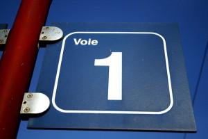 Voie 1, by Jean-Etienne Minh-Duy Poirrier, cc license