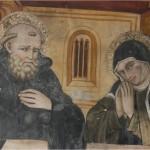 Saint Scholastica Praying