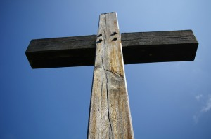 The Wooden Cross, by Neil Williamson, cc 2.0