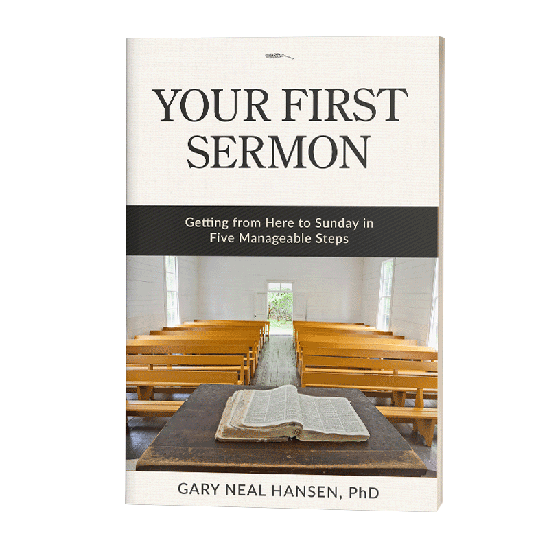 Your First Sermon on Amazon